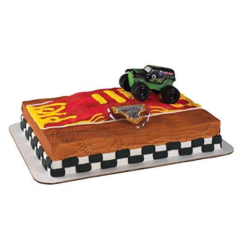 Monster Jam Grave Digger Truck Cake Topper -