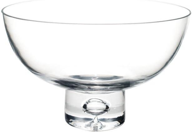 Flower Glass Vase Decorative Centerpiece for Home or Wedding by Royal Imports - Fruit Bowl Short Stem 8