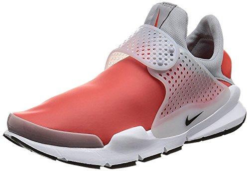Nike Men's Sock Dart SE Orange Leather Running Shoes 13
