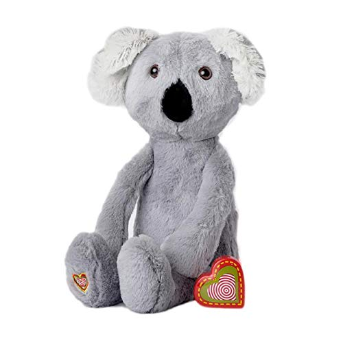 My Baby's Heartbeat Bear - Vintage Stuffed Koala with a 20 Second Voice/Sound Recorder Keeps Your Baby's Ultrasound Heartbeat Safe! - Vintage Koala
