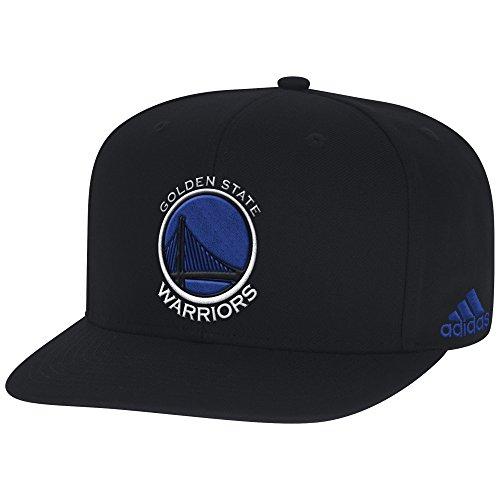 NBA Golden State Warriors Men's Hat, Black, One Size (Baseball Cap Black Basketball)