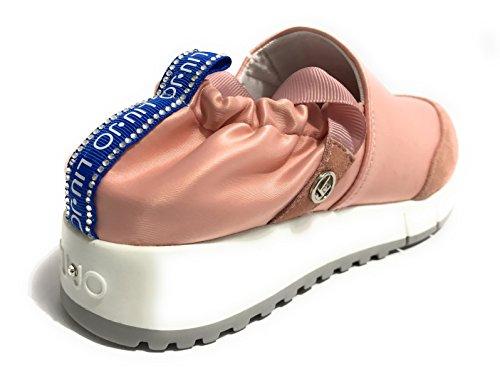 Liu Jo Jeans Zapatillas Para Mujer Rosa Rosa