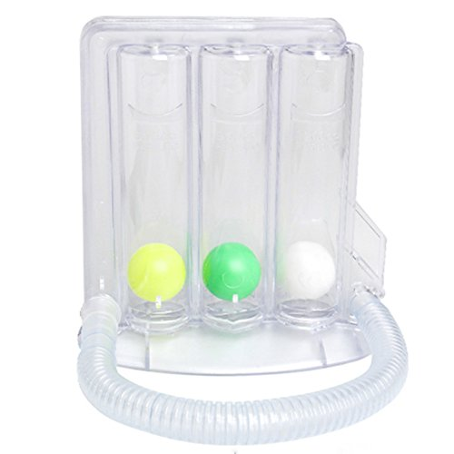 Zorvo Deep Breathing Lung Exerciser Breath Measurement System Washable and Hygienic Breathing Exerciser Trainer - medicalbooks.filipinodoctors.org