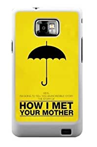 Gdragonhighfive Samsung Galaxy S2 I9100 case How I Met Your Mother Pattern Samsung case (NOT fit T-mobile version; sprint version)