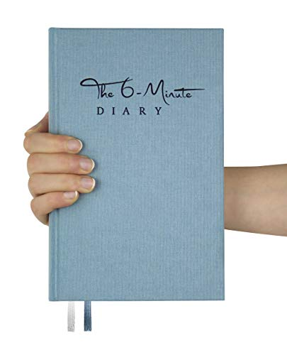 (The 6-Minute Diary | 6 Minutes a Day for More Mindfulness, Happiness and Productivity | A Simple and Effective Gratitude Journal and Undated Daily Planner | The Perfect Gift (Sky Blue))