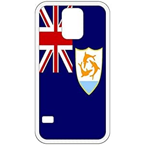 Anguilla Flag White Samsung Galaxy S5 Cell Phone Case - Cover