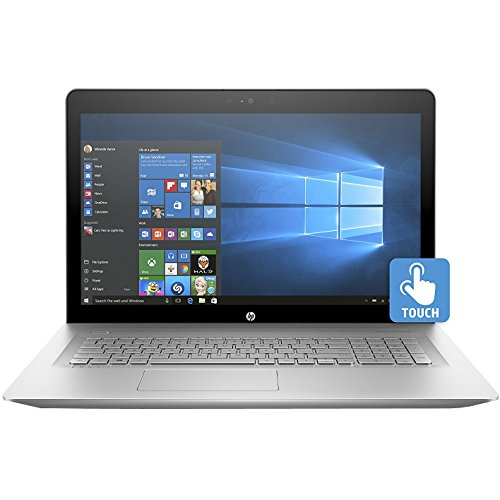 HP ENVY 17-inch Laptop, Intel Core i7-7500U, NVIDIA GeForce 940MX, 12GB RAM, 1TB hard drive, Windows 10 (17-u110nr, Silver)