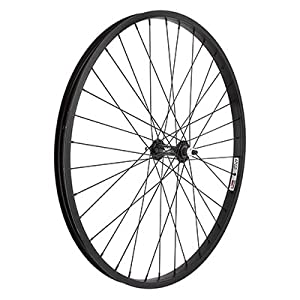 Wheel Master Front 26 x 1.75/2.125, WEI AS7X Black 3/8, 14g Blk SS Spokes, 36H