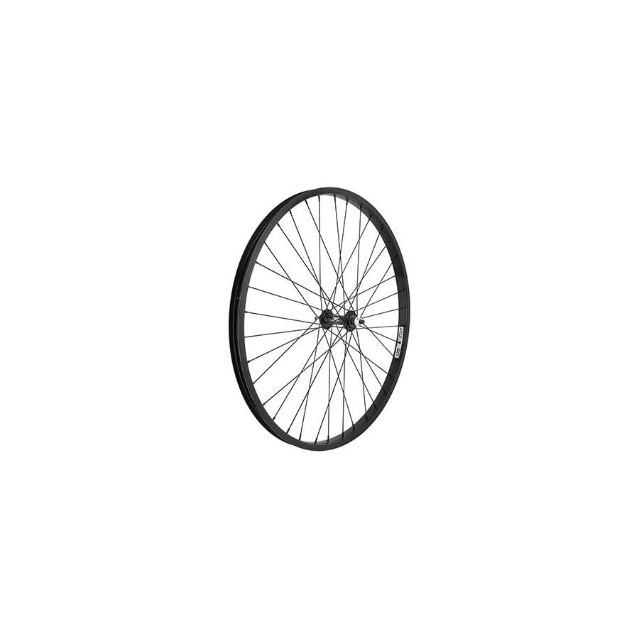 Wheel Master Front 26 x 1.75/2.125, WEI AS7X Black 3/8, 14g Blk SS Spokes, 36H