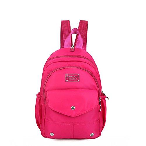 Mochila de nylon/Paquete del pecho/Bolsa de viaje/Mochila de moda/Bolso de escuela-D D