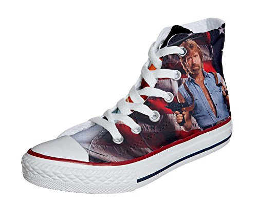 Converse All Star Customized - zapatos personalizados (Producto Artesano) telefilm cult texas