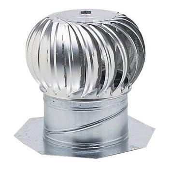 Air Vent 52103 12 Quot Aluminum Turbine Base Amazon Com
