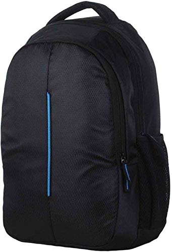 Outbox 15 Ltrs Laptop Backpack (Blueline_L_Black)