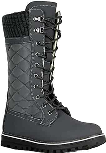 afd4e56f07db9 Shopping Purple or Grey - Mid-Calf - Boots - Shoes - Women ...