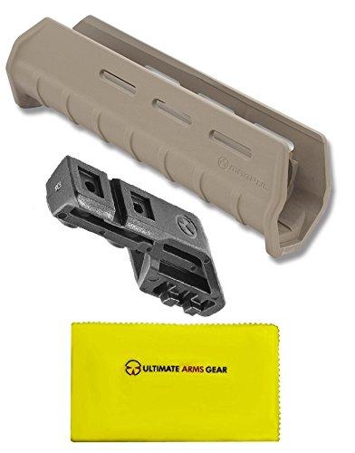 Magpul MAG491 MAG 491 MOE Flat Dark Earth Tan + MAG403 MAG 403 MOE Black + Ultimate Arms Gear Gun Silicone Cloth