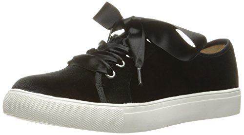Dirty Laundry by Chinese Laundry Women's Fillmore Fashion Sneaker, Black Velvet, 9 M US