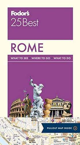 Fodor's Rome 25 Best (Full-color Travel Guide)