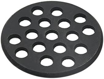 Round cast Iron fire Grate BBQ high Heat Charcoal Plate for Large Big Green Egg