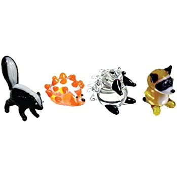 Miniature schnauzer skunk strip are