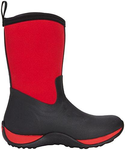 Muck Kvinna Arktiska Helgen Snö Boot Svart / Röd