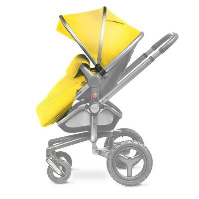 Silver Cross Surf campana y delantal de juego en gris/amarillo: Amazon.es: Bebé
