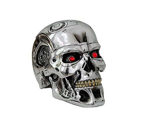 (Nemesis Now - Terminator 2 Judgment Day - T-800 head- NOW0949 - IN STOCK - New by Nemesis Now)