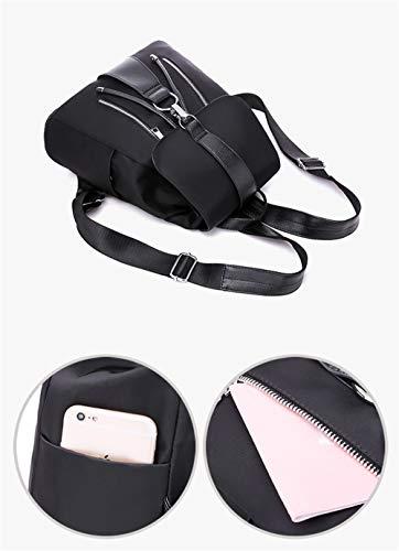 Noir porté Femme Main Sac à Noir HCXIN Noir au pour Dos wtx8U7q74