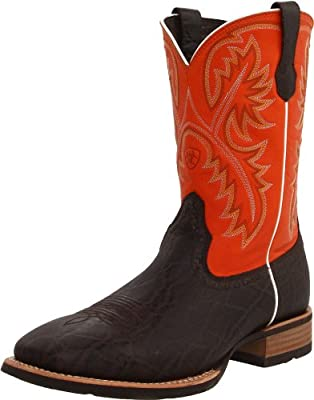 0563bb77526 Ariat Men's Quickdraw Western Cowboy Boot, Chocolate Elephant ...