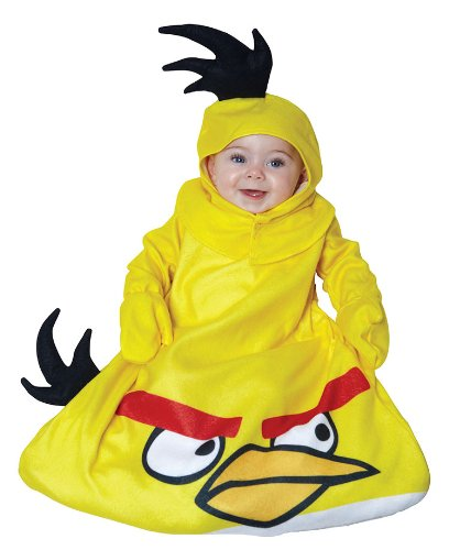 Angry Birds King Pig Infant Costumes (Paper Magic Yellow Angry Birds Infant Costume)