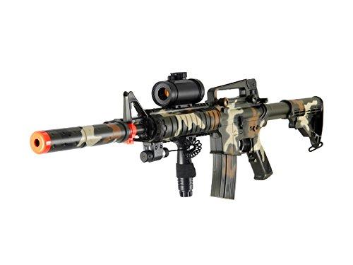 Double Eagle M832A2CAMO AEG Tactical Airsoft Rifle Gun ()