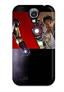New Iron Man Skin Case Cover Shatterproof Case For Galaxy S4