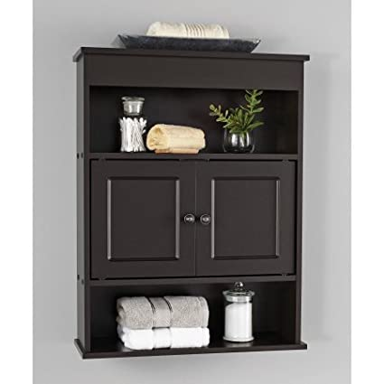 Amazon.com: Chapter Bathroom Wall Cabinet, Espresso: Cell Phones ...