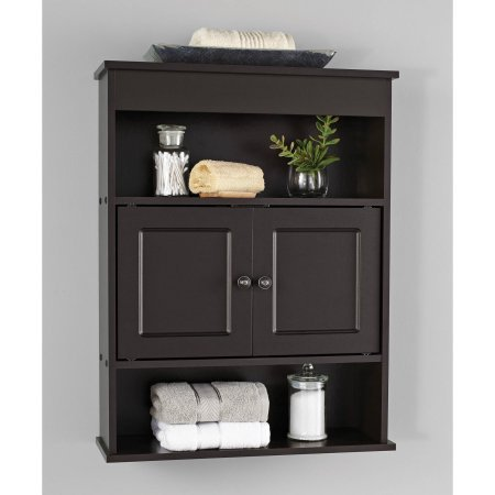 Chapter Bathroom Wall Cabinet, Espresso by Chapter