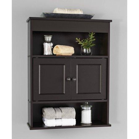 Chapter Bathroom Wall Cabinet  Espresso