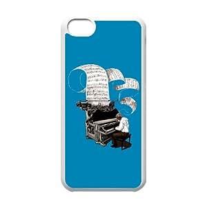 iPhone 5c Cell Phone Case White fourscore_author-tone_11235-600x600-b-p-0084B5
