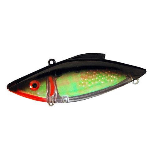Rat-L-Trap Lures 1-1/2-Ounce Super Trap (Black Halo)