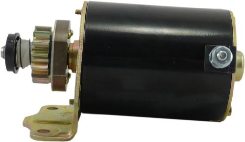 New Starter for Briggs & Stratton 14 Tooth Steel Gear 14HP-18HP Engine SE501848 BS693551 593934 MIA13018 435-300 213-07122 206-07122 MS-6007 RS41082 71-09-5777 91-09-1100N 693551, 693552 LG693551