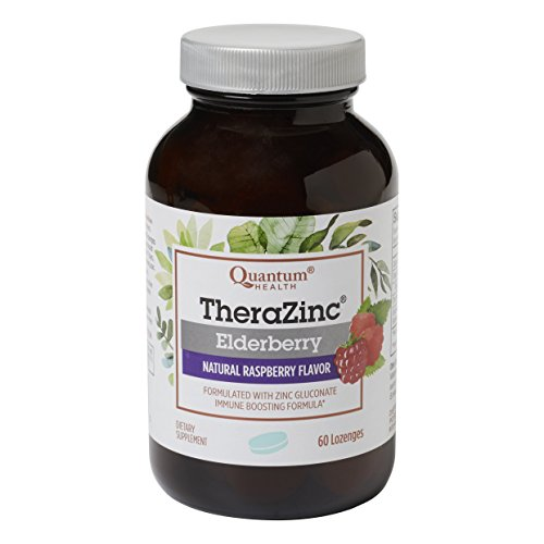 Quantum Health TheraZinc Elderberry Lozenges, Made with Zinc Gluconate for Immune Support, 60 Count Review