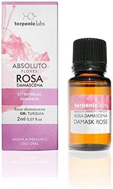 Terpenic Evo Rosa Damascena Absoluto Aceite Esencial
