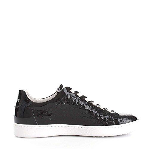 37 Nero Donna Giardini P717253d pelle Eco Sneakers Vernice 6U6Fq0wd
