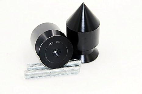 NBX- Bobinas con diseño de pinchos negros para Kawasaki ER ...
