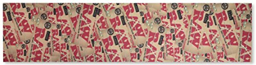 Master Blend 3 Torpedo (RAW Natural Unrefined Rolling Papers Griptape - Skateboard Grip Tape (Classic))