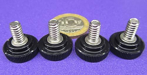 Thread Size 3//8-16 Thread Size 3//8-16 FastenerParts Alloy Steel Knurl Grip Set Screw
