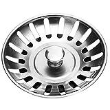 Stadux Stainless Steel Kitchen Sink Strainer Plug, Diameter:78mm