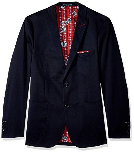 Paisley & Gray Men's Ashton Slim Fit Sportcoat, Navy, 40R ()