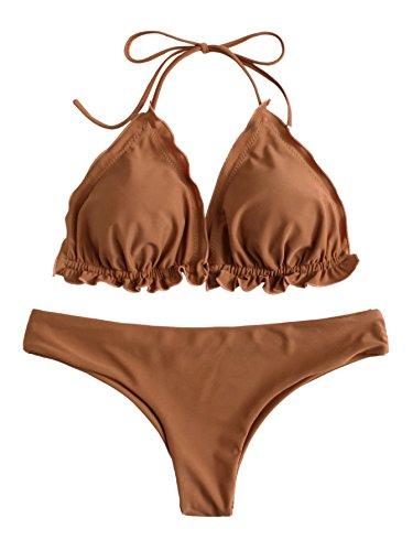Khaki Bikini Set in Australia - 6