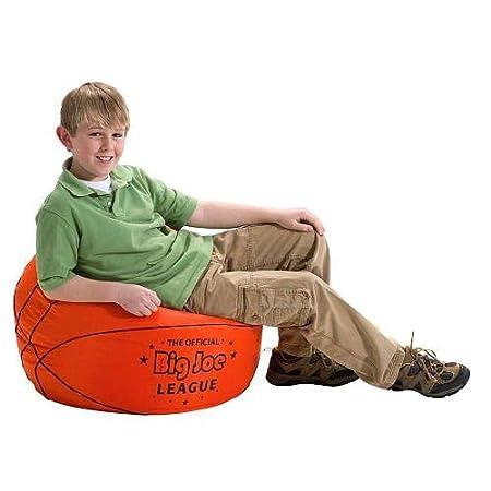Amazon.com: Big Joe - Puf de baloncesto con tela Smart Max ...