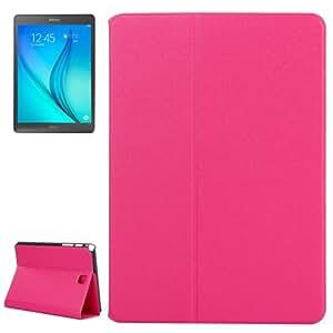 Golden Sands Beach Texture Leather Funda Case Cover + Lápiz GRATIS con Holder para Samsung Galaxy Tab A 8.0/T350(Magenta)