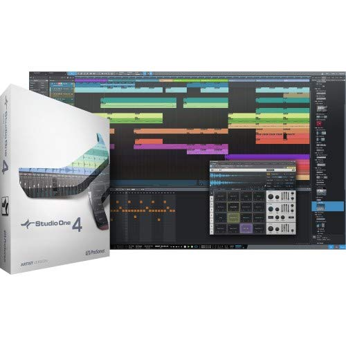 (PreSonus Audio Electronics Multitrack Recording Software Studio One 4 Artist/Boxed)