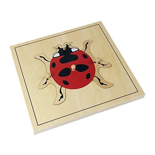 Montessori Lady Bug Puzzle